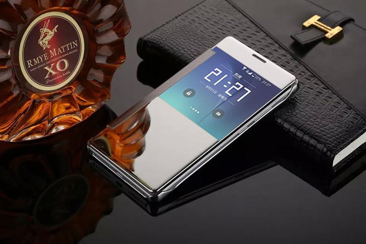"""SAMSUNG A710 A7 2016 GALAXY Оригинальный SMART чехол книжка зеркальный для телефона """" S VIEW COVER CHROME """""""