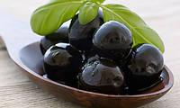 Черные оливки (маслины) с приправами 100 гр