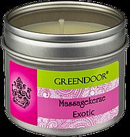 Свеча массажная ароматическая Exotic Greendoor