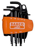 Набор отверточных ключей с шаровым наконечником под винты типа TORX ®, 8 штук, Bahco, BE-9675