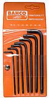 Набор отверточных ключей под винты TORX ®, Bahco, 1986TORX/7T