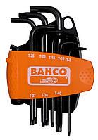 Набор оксидированных шестигранников под винты TORX® TR 8 штук, Bahco, BE-8675