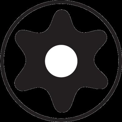 Набор оксидированных шестигранников под винты TORX® TR 8 штук, Bahco, BE-8675, фото 2