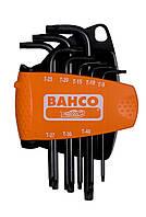 Набор оксидированных шестигранников TORX ®, Bahco, BE-9575