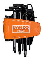 Набор отверточных ключей под винты типа TORX ®, 8 штук. Устройство для намагничивания в комплекте, Bahco, BE-9585