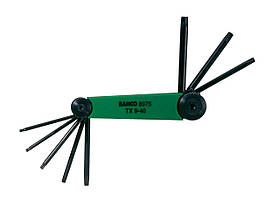 Набор ключей под винты TORX®, Bahco, BE-8975
