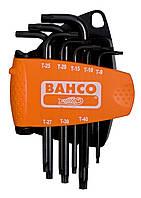 Набор Г-образных ключей под винты TORX PLUS ®, 8 штук, Bahco, BE-7675