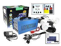 Солнечная домашняя аккумуляторная система GD 8018 - 100W тянет LCD телевизор