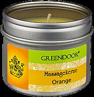Свеча массажная ароматическая Orange Greendoor (Апельсин)