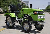 """Мототрактор """"ТА-ТА"""" ZUBR SH 120 (дизель, 12 л.с., колеса 4.00-12/ 6.5-16, электростартер, фреза тракторная)"""