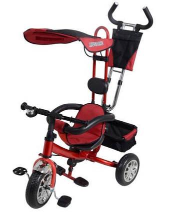Детский трехколесный велосипед VT 1414. красный , фото 2