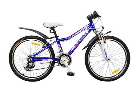 Велосипед алюминиевый скидки подростковый  спортивный Colibree 24 дюйма, фото 2