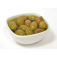 Зеленые оливки в масле 100 гр