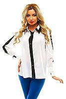 Женская рубашка длинный рукав