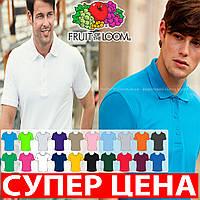 Мужская футболка рубашка поло премиум 100% хлопок