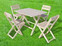 Комплект складной мебели для пикника ручной работы