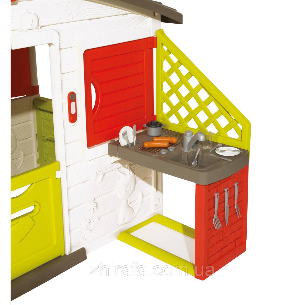 Детский домик с кухней