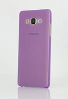 Фиолетовый пластиковый чехол для Samsung Galaxy A3