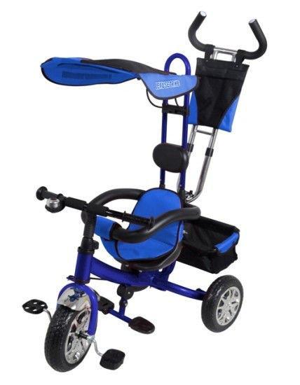 Дитячий триколісний велосипед VT 1416. Синій