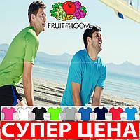 Мужская футболка для спорта 100% полиэстер 61-390-0