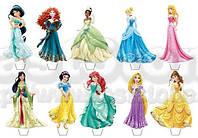 Принцессы 5  Вафельная картинка