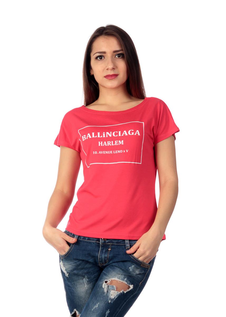 """Футболка женская """"BALLINCIAGA"""" FB7723"""