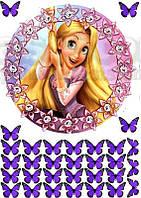 Принцессы 9  Вафельная картинка