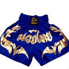 Шорты для Тайского бокса (Muay Thai) Thai Professional S16 Blue/Gold, фото 3