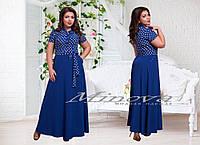 Платье макси большого размера 50-58 разные цвета