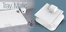 Белый акриловый душевой поддон в комплекте с насосом для отвода грязной воды в ванную комнату Traymatic Int