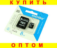 Карта памяти Smartbuy MicroSD 8Gb 10 Class