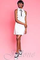 Короткое белое платье Anna Жадон 44-48 размеры Jadone