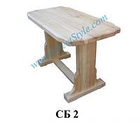 Стол прямоугольный для бара СБ2 (Эконом)