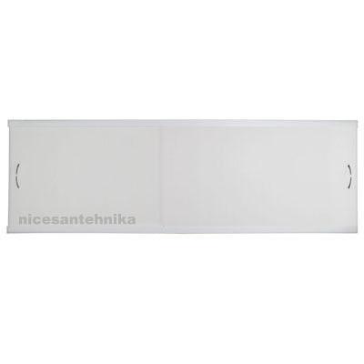 Экран под ванну 170*50 см. пластиковый ЕВПА