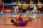 Техника падения в волейболе