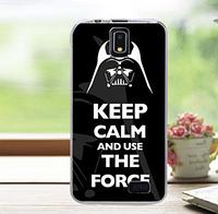 """Чехол силиконовый """"Keep calm"""" для Lenovo S580"""
