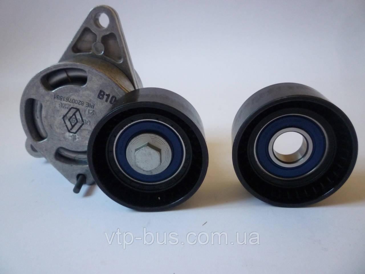 Комплект роликов генератора на Renault Trafic 2,5 (135л.с.+146л.с.) с 2003... Renault (оригинал) 7701475629