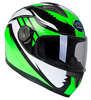 Шлем GEON 968 Интеграл Race black-green - XS