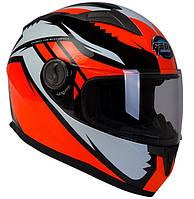 Шлем GEON 968 Интеграл Race black-orange - XS