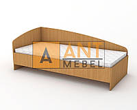 Кровать одноместная КДО-002