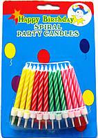 "Свечи для торта ""Спираль"""