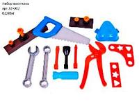 Набор инструментов Юный Плотник, 21 деталь