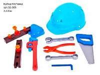 Набор инструментов Юный Плотник, 17 деталей