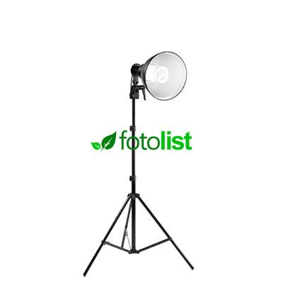 Постоянный флуоресцентный свет Falcon LHER-2040 +рефлектор, 40w, 200Вт, 5500К + стойка 2.0 м