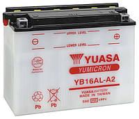 Мото аккумулятор YUASA YB16AL-A2