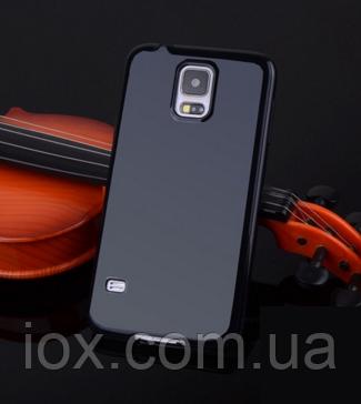 Силиконовый черный чехол для Samsung Galaxy S5