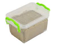 Кинетический песок WABA Fun 1 кг в контейнере