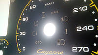 Шкалы приборов Porsche Cayenne , фото 1