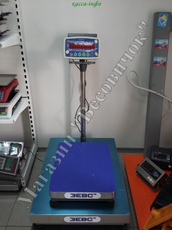 Товарные весы ЗЕВС ВПЕ 30 кг (L0405) А12Е