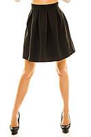 Женская юбка - солнц клеш до колен